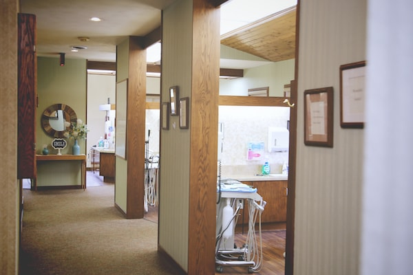 Treatment rooms where our dental team care for patients